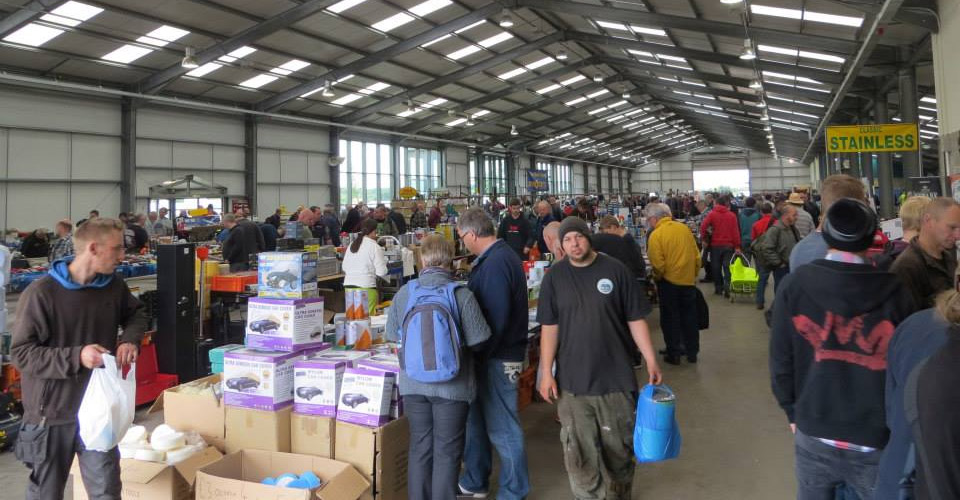 Normous Newark Autojumble Hall