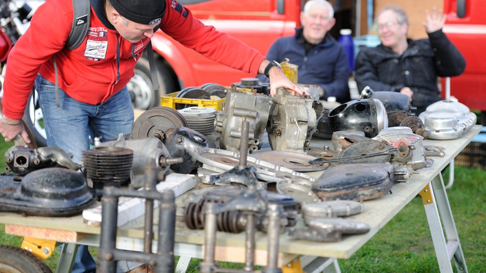 Newark Autojumble table top